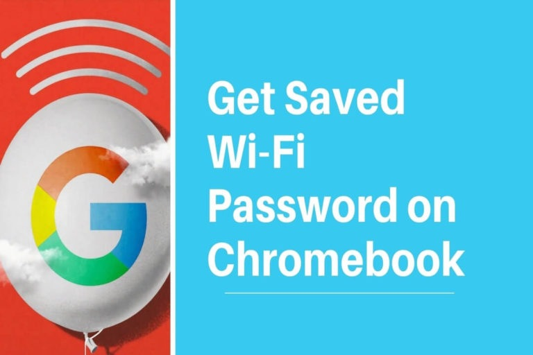 Get Saved Wi-Fi Password on Chromebook