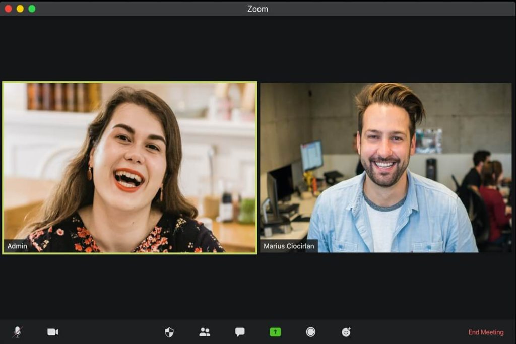 One by one video calling