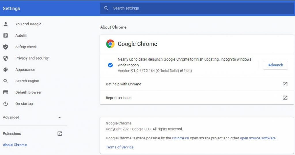 Chrome OS is not running smoothly in Windows 10